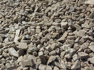 Recycling Material (RC) Recycling-Beton / Siebung56/100