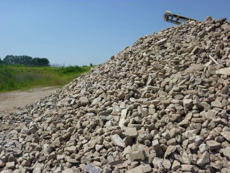 Beton-Recycling Korngröße 56 als Baustoff