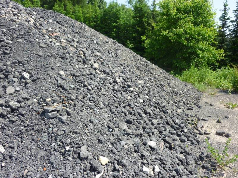 Asphalt-Recycling Korngröße 0-45 als Baustoff