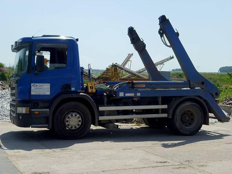 Containerdienst-Absetz-LKW-800b600h